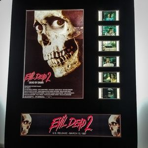 EVIL DEAD 2 35mm Film Cell Display 8x10 Mounted